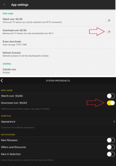 Download and watch offline – Help Rakuten TV